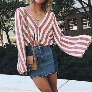 Forever 21 Denim Mini Skirt NWOT